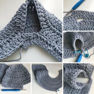 armhole crochet pattern