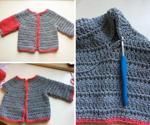 sleeves crochet pattern