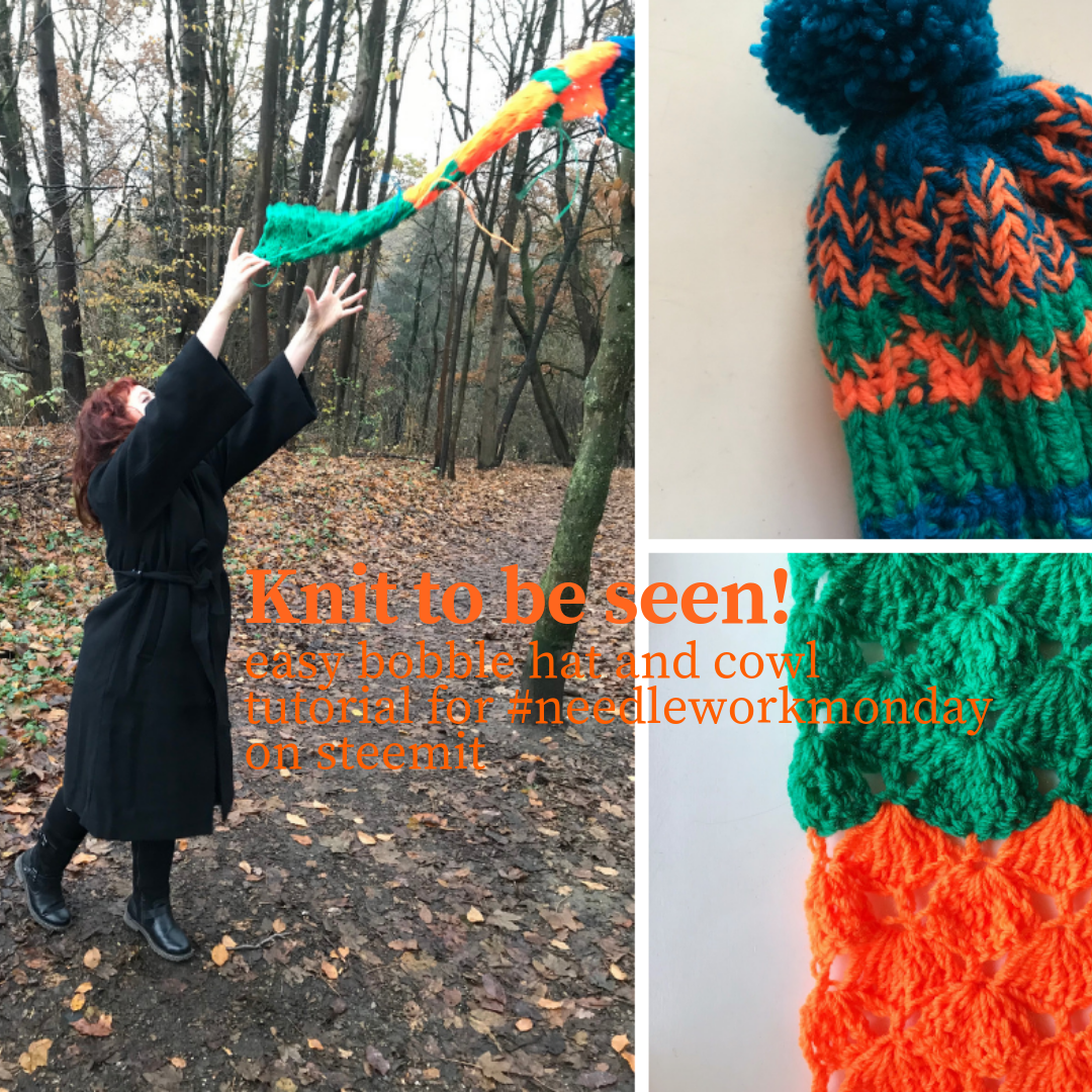 b1b26314f7b Knit to be seen! Easy bobble hat and crochet cowl pattern - Bliss ...