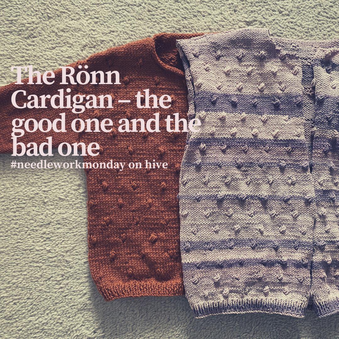 hand knitted rönn cardigan